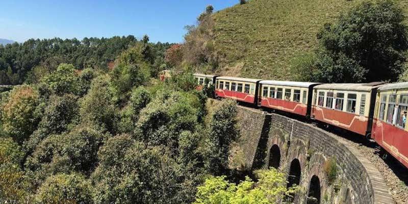 Kalka-Shimla toy train now providing water to the needy