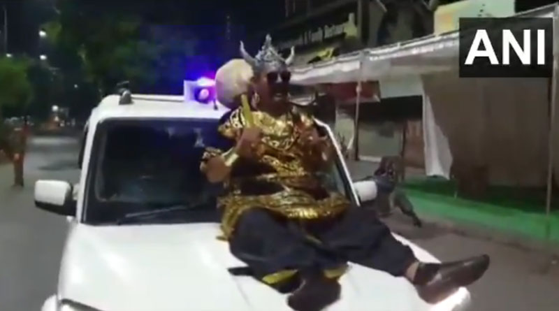 Indore cop dresses up as Yamraj, appeals people to stay at home