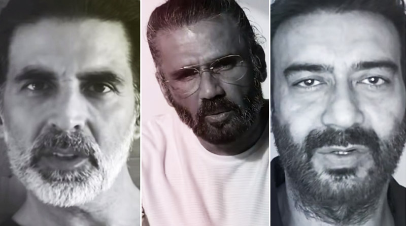 Akshay, Ajay, Sunil Shetty feature in music video by Dharavi rappers