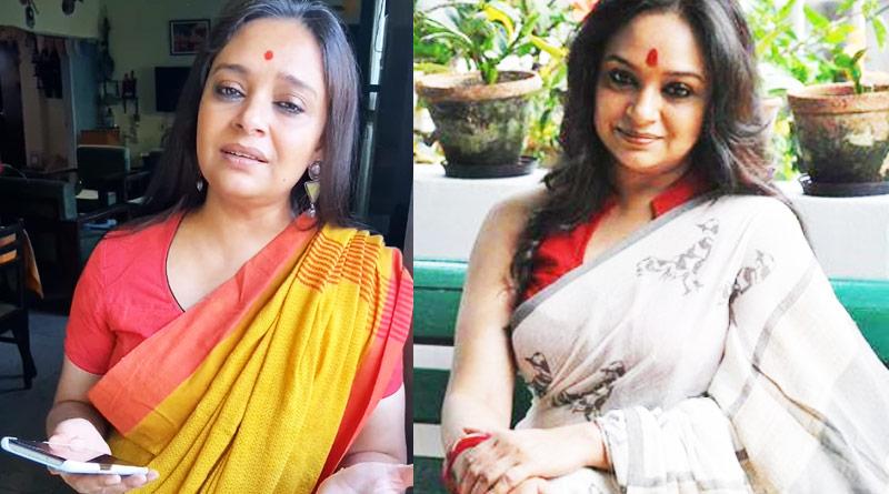 Actress Bidipta Chakraborty's singing video has gone viral