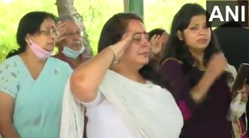 Colonel Ashutosh Sharma's last rites with military honours in Jaipur