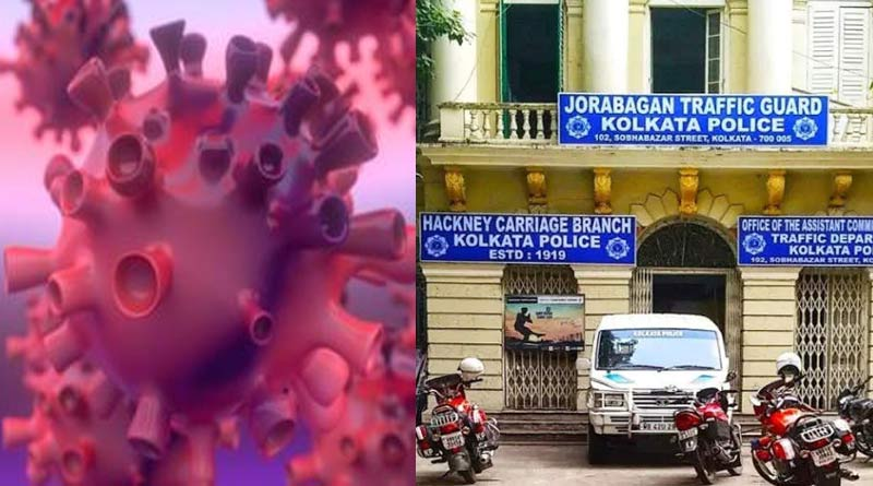 Traffic guard of Jorabagan shifted to Girish Park outpost for COVID-19 infection