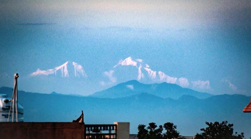 Saharanpur woke up to the stunning view of Himalayan mountains