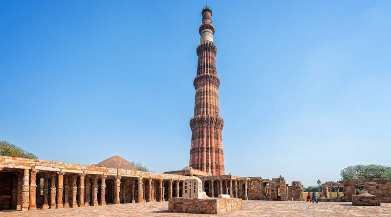 Lawsuit filed for restoration of temple claimed to be situated inside the Qutub Minar complex   Sangbad Pratidin