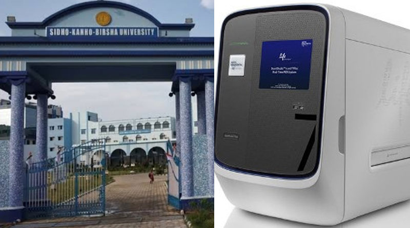 University of Sidho-Kanho-Birsa sends 2 RT-PCR ie corona testing machines to SSKM