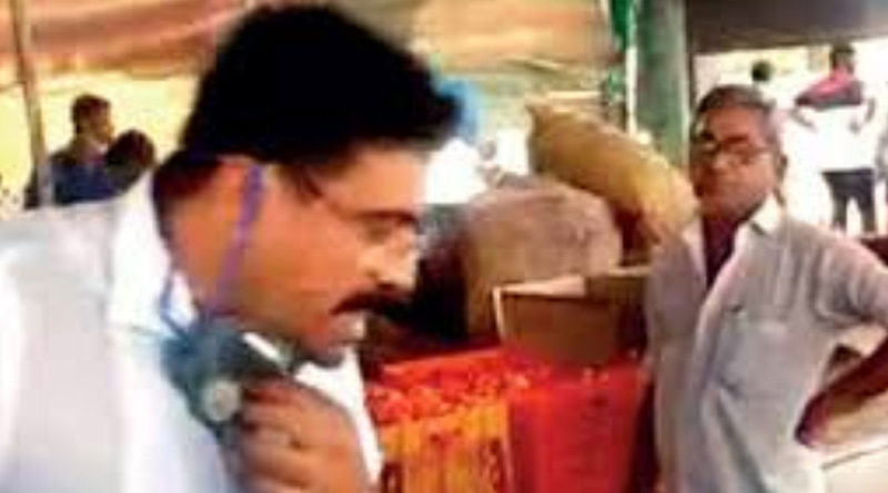 Rajkot BJP MLA spits in government-run kitchen for poor