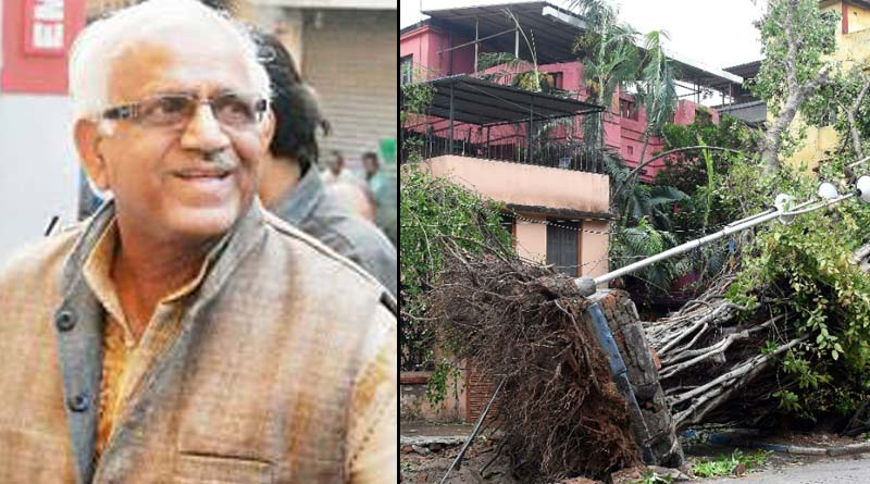 Power supply collapsed in 5 amphan hit districts, says Sovandeb Chatterjee