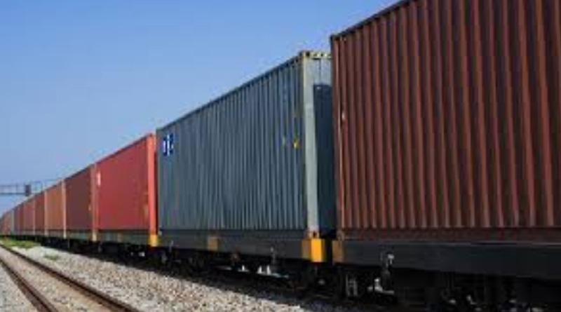 onions goes to Bangladesh by train from India, rice by ships