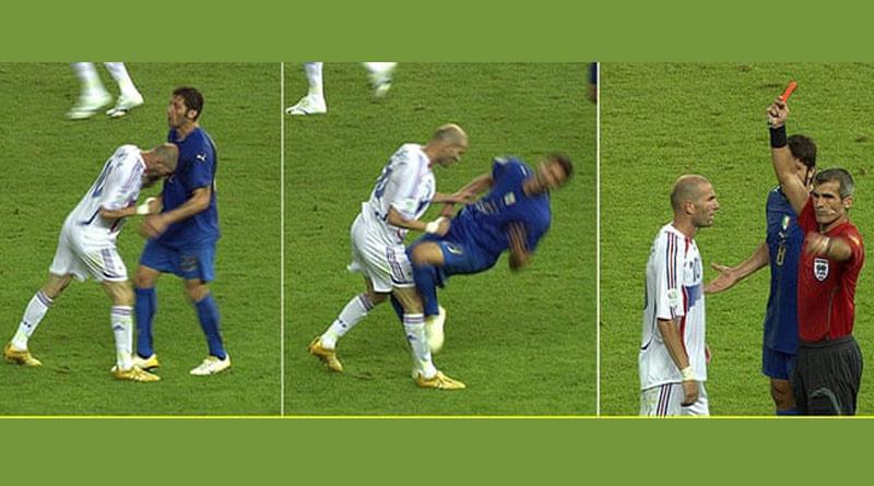 Materazzi finally revealed what he said that made Zidane headbutt him