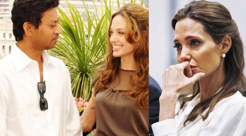 Angelina Jolie shares work experience with Irrfan Khan
