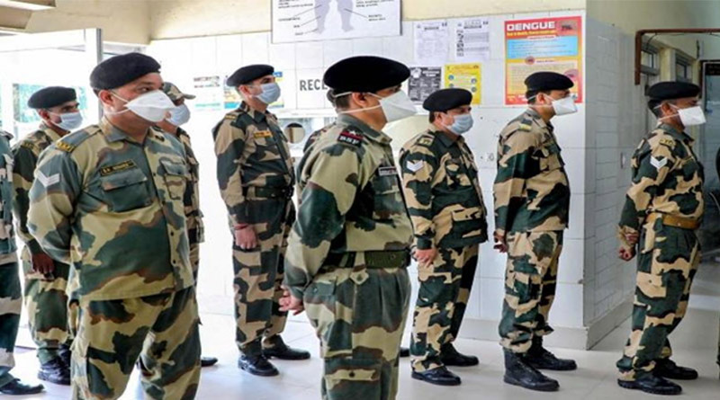 BSF escort diver report positive today in kolkata, IMCT tanced