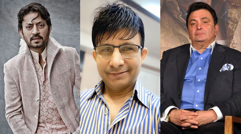 FIR filed against KRK for tweets against Rishi Kapoor and Irrfan Khan