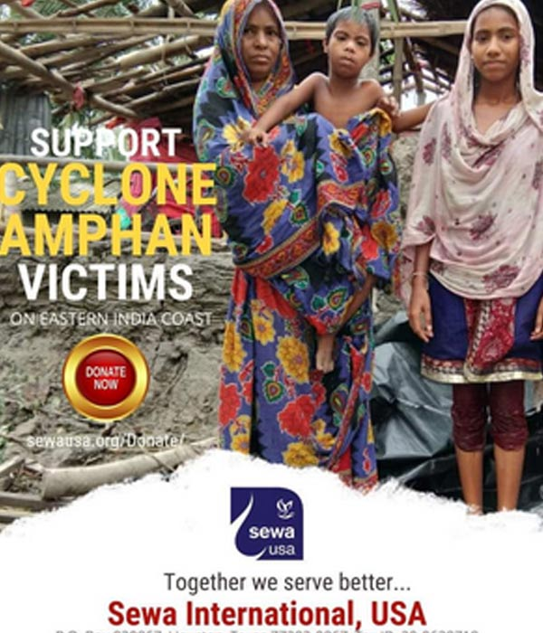 Amphan disaster relief