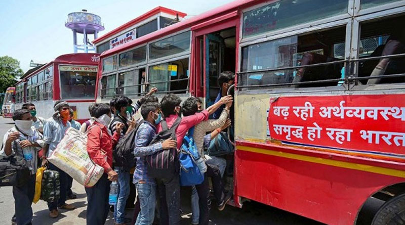 Rajasthan minister says UP not allowing Migrant buses in state