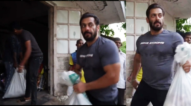 Salman extends help to needy people while staying in Panvel's farm house