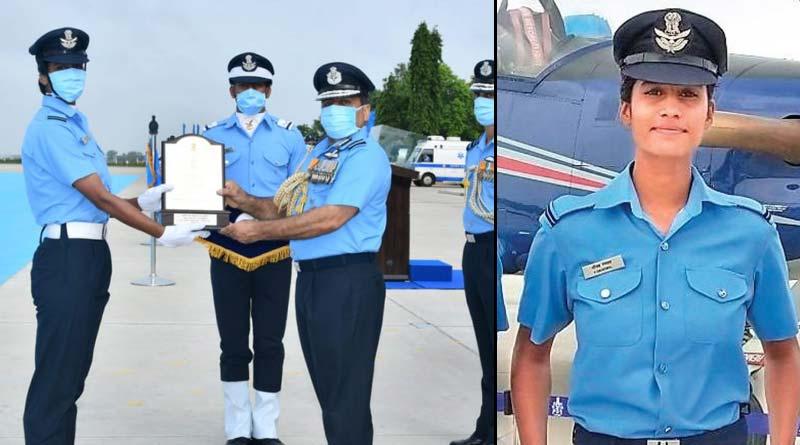 Meet Aanchal Gangwal, Tea Seller's daughter who became IAF Fighter Pilot