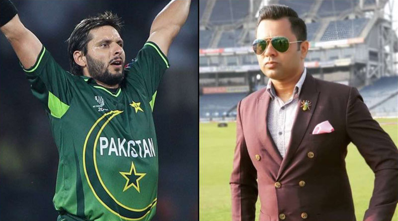 Aakash Chopra reacts to Shahid Afridi's comment of India