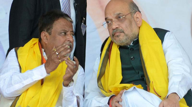 Mukul Roy Meets Union Home Minister Amit Shah on Saturday