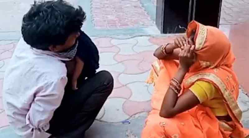 Devastated parents cling to baby's body in UP hospital