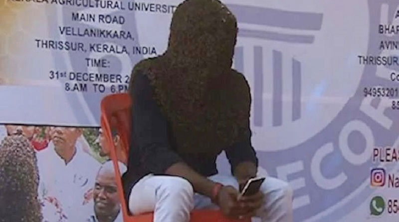 Kerala youth makes world records by sitting with thousand of bees at his head and face