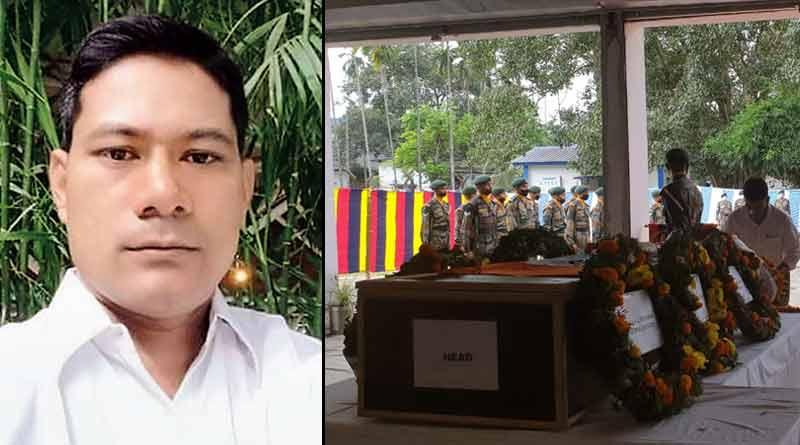 Breaking: Galwan martyr Bipul Roy's last rites performed in Alipurduar's Bindipara