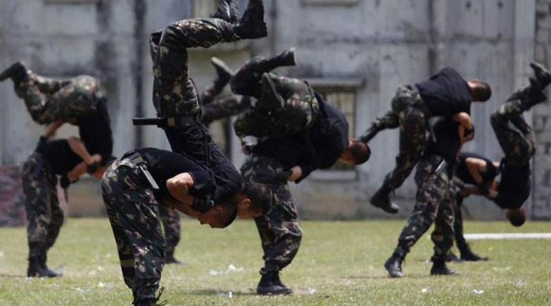 China sends 20 martial art trainers to Tibet to train the troops