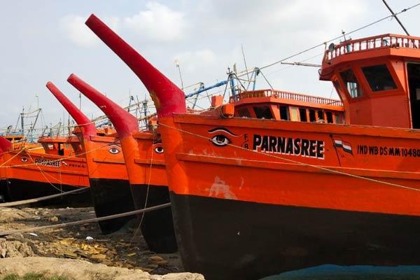 Breaking: Fishermen are preparing for fishing of Hilsa coming monsoon season after lockdown