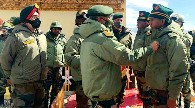 Pakistan and China together form a potent threat to national security, said Army Chief Gen MM Naravane