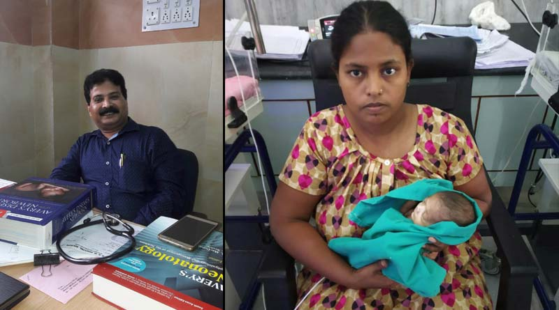 SSKM Hospital Child Specialists saves New Born Baby weighing 450 gms.