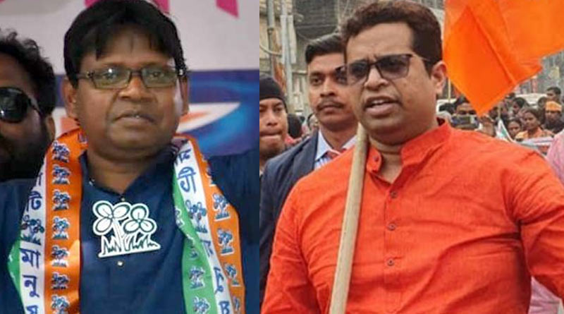 BJP MP Saumitra Khan insults minister Shyamal Santra by saying 'halfpant minister'