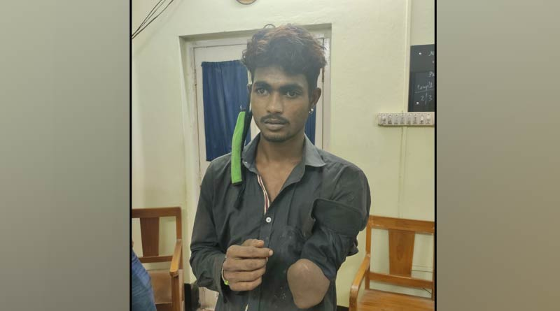 Breaking: A thief arrested from south kolkata on thursday