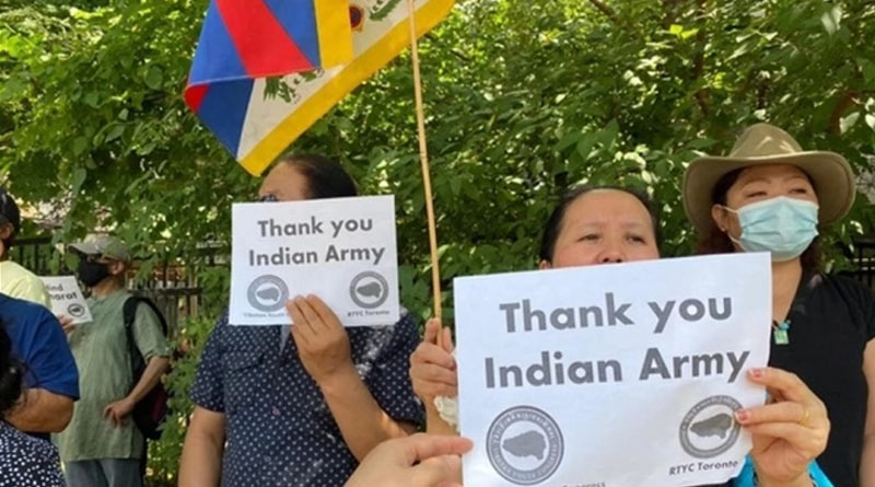 'China Out Of Tibet Now': Tibetans Protest In Canada Against China