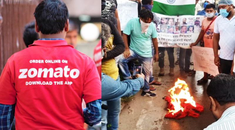 More than hundreds of Kolkata Zomato delivery boy has resigned