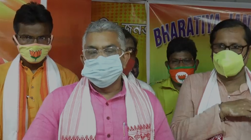 Dilip Ghosh urges Yuva Morcha leaders to cancel rallies for COVID-19