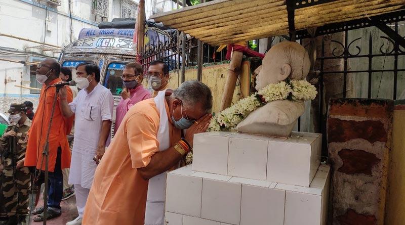 'Dr. Shyama Prasad mukherjee is our biggest icon', said dilip ghosh