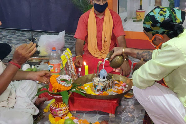 Puja for Amitabh