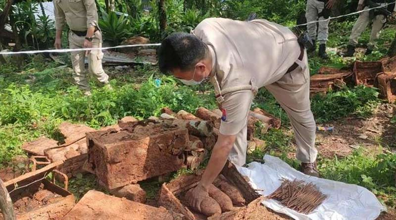 Bombs And Ammunition from World War-II Era Discovered In Manipur