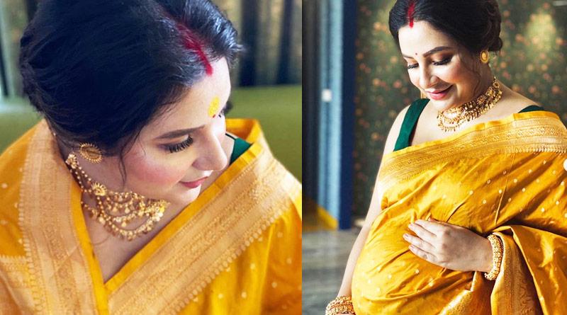 Tollywood actress Subhashree Ganguly gives birth baby boy