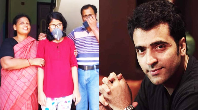 Madhyamik student gets call from actress Abir Chatterjee
