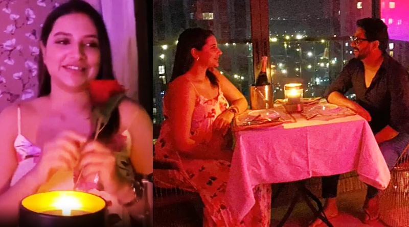 Raj, Subhashree's romantic dinner video goes viral