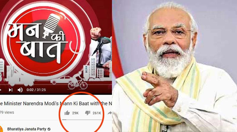 YouTube users are 'disliking' PM Modi's videos over NEET, JEE fiasco