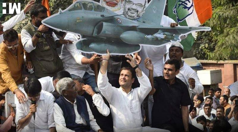 Congress wants PM Modi to order Joint Parliamentary Panel probe into Rafale Deal   Sangbad Pratidin