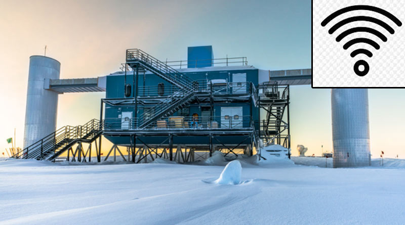 Sound from South pole reaches to Barasat after crossing 12000km