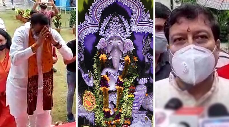 Sabyasachi Dutta organises Ganesh Puja with permission from Calcutta HC