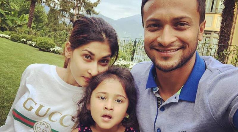 Shakib Al Hasan and wife expecting their third child |Sangbad Pratidin