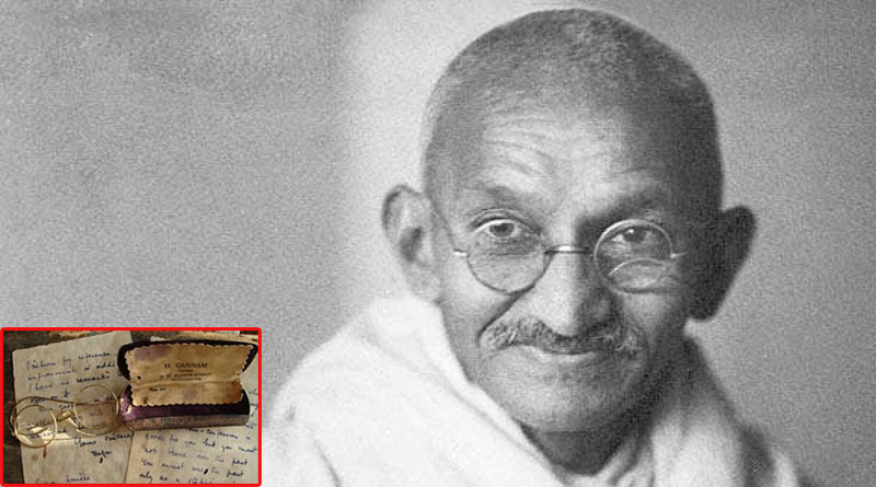 Mahatma Gandhi's earliest gold-plated spectacles, from South Africa days, emerge at UK auction; here's how much it costs