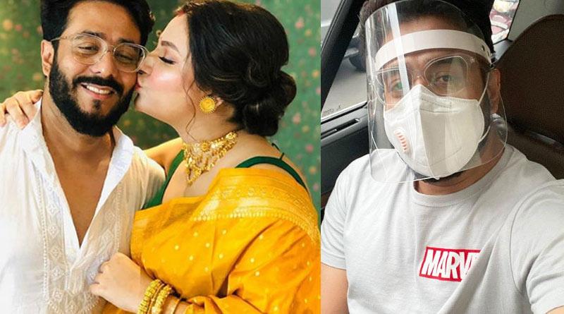 Subhashree tested covid negative, says director husband Raj Chakraborty