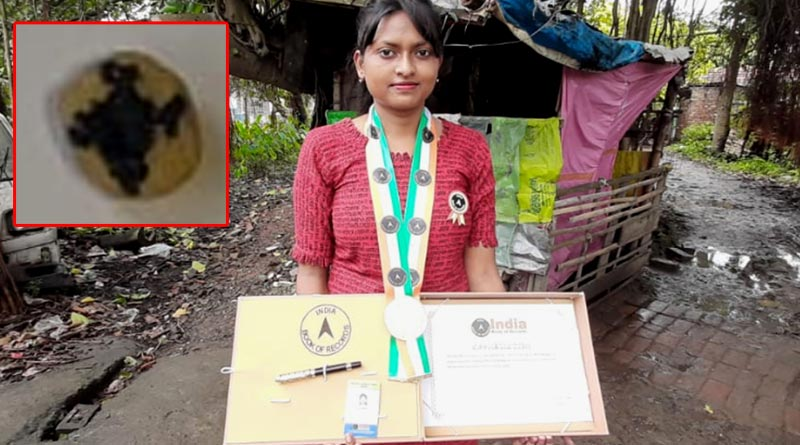 Hoogly: Girl got her name into India book of records with her painting