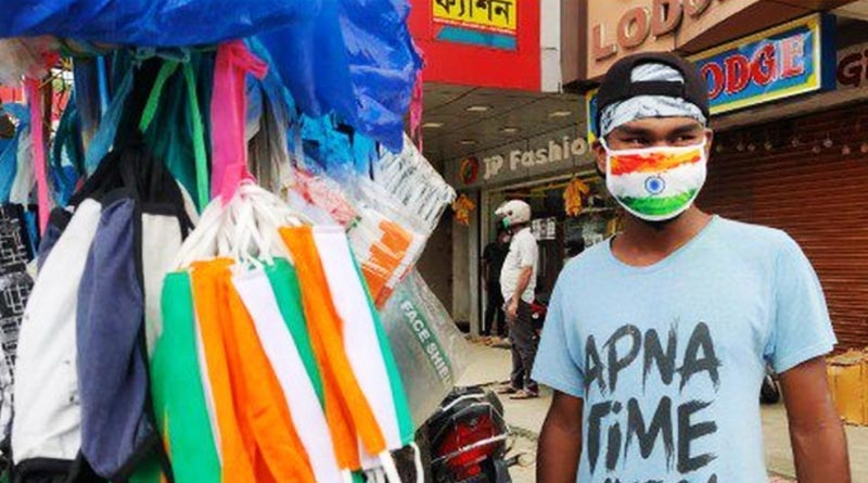 Muslim women board objects on Tricolour face masks for this reason