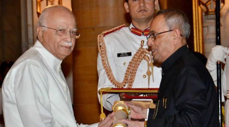 Lal Krishna Advani louds former president Pranab Mukherjee